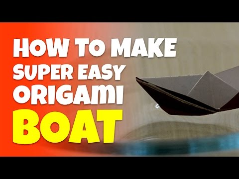 How To Make Paper Boat | Origami Boat Art Work | Easy Steps To Follow