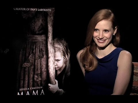 Jessica Chastain Interview - Mama (HD)