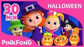 Las Mejores Canciones de Halloween   +Recopilación   PINKFONG Canciones para Niños
