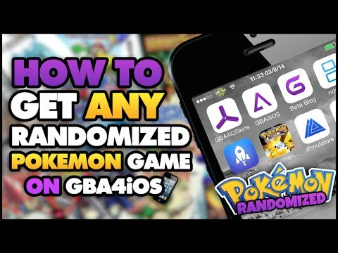 GBA4iOS: How to Get Randomized Pokemon Games (NO COMPUTER) (NO JAILBREAK)