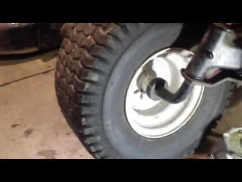 Sears Craftsman Front Wheel Bushing Issues