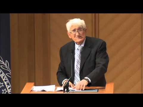 Jürgen Habermas Lecture: Myth and Ritual