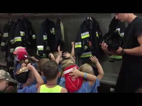 Wycieczka Do Komendy Miejskiej Państwowej Straży Pożarnej W Białymstoku