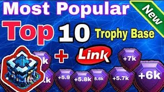 Th13 New Amazing + Super Strong Trophy Base With link 2020!! th13 anti trophy base! Anti 1 Star Base