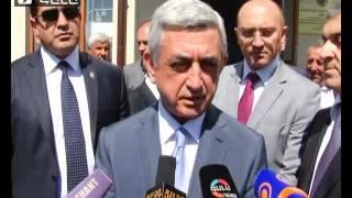 Serj Sargsyan - 13.09.2014