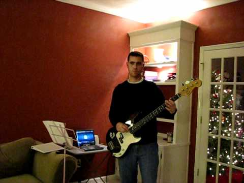 Hells Bells Bass Cover (ACDC) Practice video 2