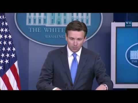 7/11/16: White House Press Briefing