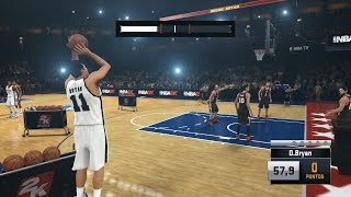 NBA 2K15 (Modo Carrera - Concurso de Triples) Gameplay en Español by SpecialK