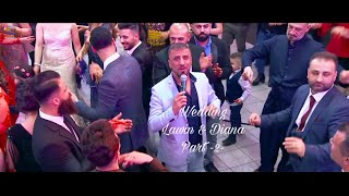 Lawin & Diana #Wedding #Part -2- #Music Tarek Shexani by #RonahiStudio