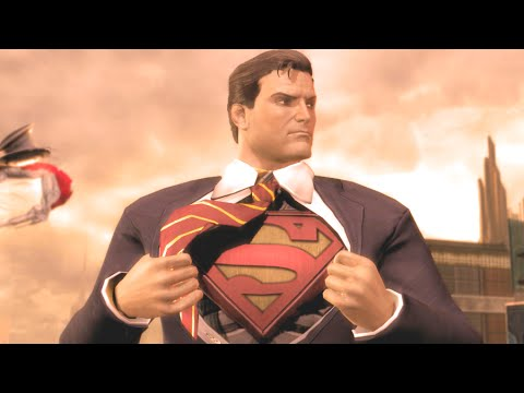 Injustice Gods Among Us All Intros Ultimate Edition PC 60FPS 1080p