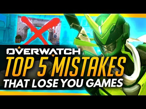 Overwatch | Top 5 Mistakes That Will LOSE You Games!