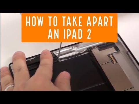 iPad 2 Disassembly Teardown Take Apart Music Videos