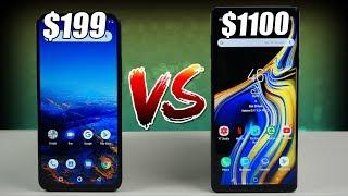 Umidigi F1 vs Samsung Galaxy Note 9 | Better Than Samsung's Flagship?