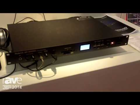 ISE 2014: Roland Systems Updates the AR-3000SD Audio Recorder With CF Card & SD Card