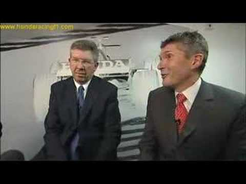 Honda Racing TV talks to Ross Brawn