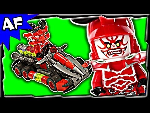 General Kozu GO-KART Custom Lego Ninjago Rebooted Building Review 70504 70725