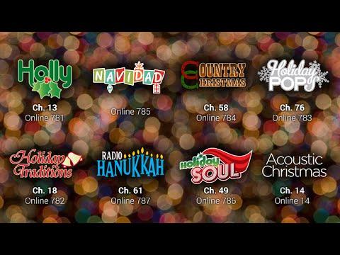 Christmas Music XM Radio-Holly channel