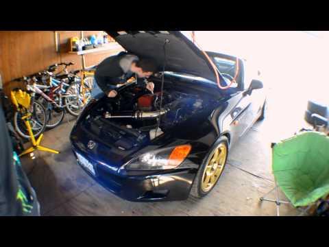 S2000 Spark Plug Install Time Lapse