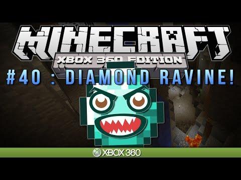 "Minecraft Xbox | ""DIAMOND RAVINE"" | Survival #40"