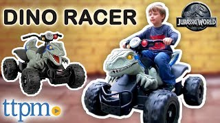 Power Wheels Jurassic World Dino Racer Ride-On from Fisher-Price