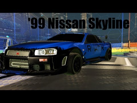 Skyline GTR IS NUTS IN ROCKET LEAGUE