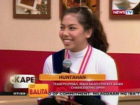 KB: Team Pilipinas, wagi sa Southeast Asian Cheerleading Open