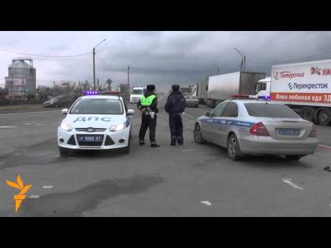 Russia Truckers Protest New Road Tax