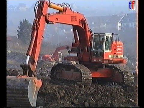 Heavy Road Construction / Neubau B14, Stuttgart-Untertürkheim - Fellbach, Liebherr R972, 1989 #5