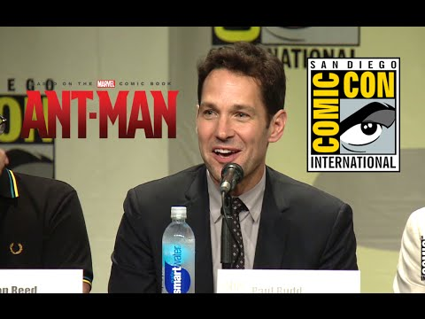 Comic Con 2014: Ant-Man Hall H Panel (2014) Marvel Movie HD