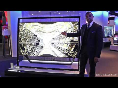 Samsung S9 85-Inch 4K Ultra HD TV Hands on at Selfridges