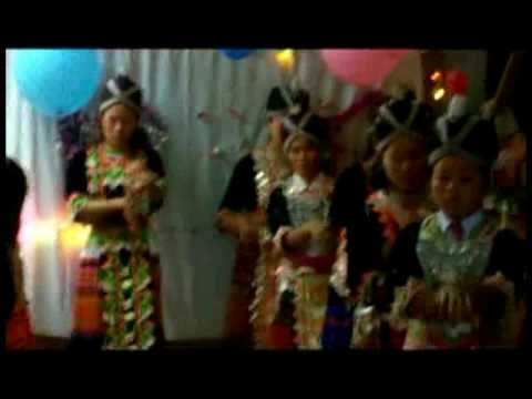 Hmong Christian Girl Dancing for Jesus
