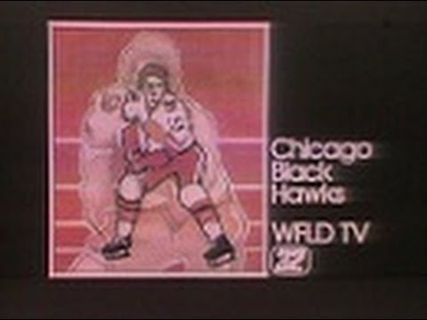 WFLD Channel 32 - Chicago Black Hawks Vs. Boston Bruins (Excerpts, 1976)