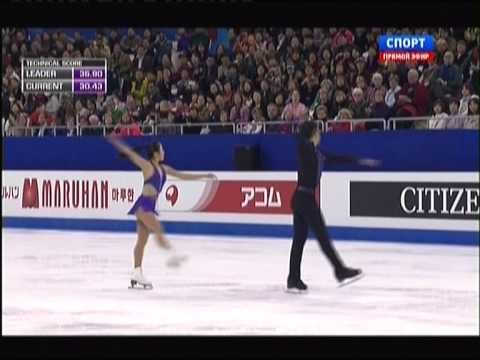 World Figure Skating Championships 2015. SP. Wenjing SUI / Cong HAN