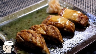 Sushi of Nianago♪ ~Conger eel Simmered in Sweetened Soy Sauce~ 煮穴子のにぎり鮨♪