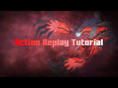 How to get any pokemon in X and Y with action replay