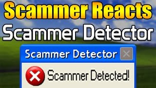 Scammer Reacts To Scammer Detector | Tech Support Scammer Trolling