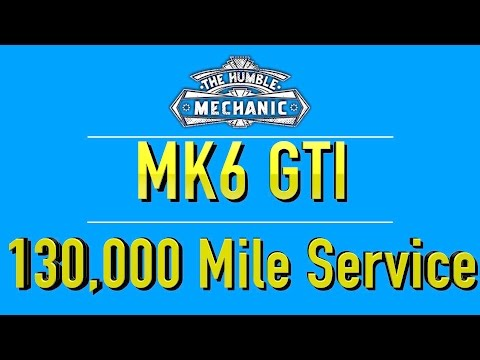 MK6 GTI Must Perform Service at 130,000 miles