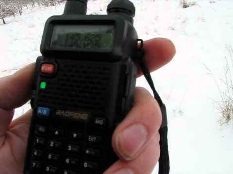 ham radio in the snow