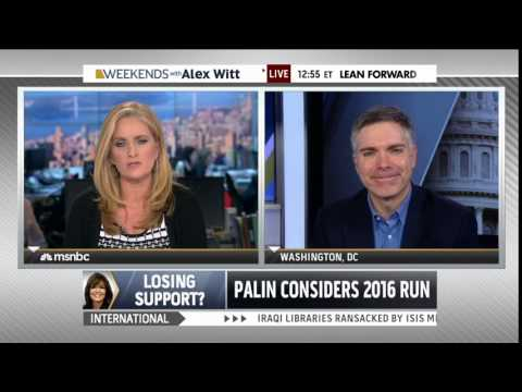 Conservative Matt Lewis finally admits that Sarah Palin is an idiot