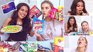 Trying NEW ZEALAND Candy! ♡ Adelaine Morin Collab!