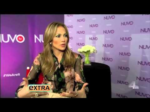 Jennifer Lopez's Extra Interview at NUVOtv Upfront