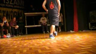 Finał Footwork Contest - Dep One vs. Turtle Rock - Krok Piskiego Stylu 2011