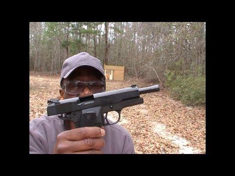 Rock Island Armory 22 TCM Micro Mag Shooting