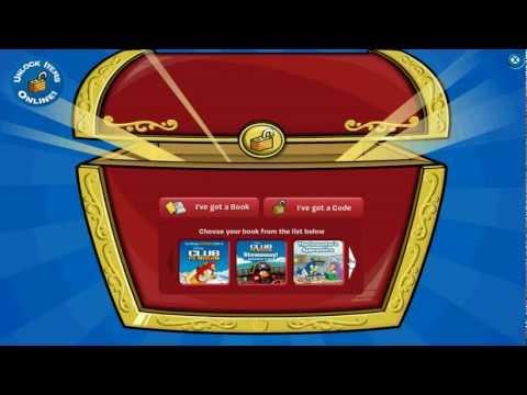 Club Penguin - Codigos Libro Mochila y 1500 Monedas Agosto 2012