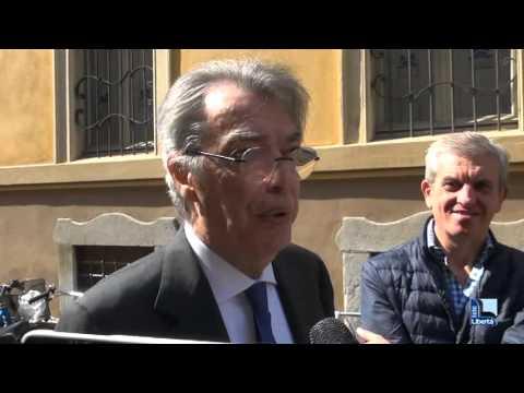 """Massimo Moratti a Piacenza: """"Senza l'Inter ho molta meno adrenalina"""""""