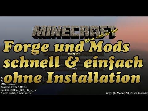 Minecraft 1.5.2: Forge und Mods ohne Installation verwenden via MagicLauncher [Deutsch/HD]