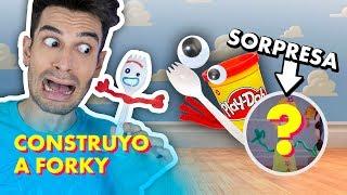 Construyo a FORKY!!! 👀 [DIY] SORPRESA AL FINAL 😱 - Toy Story 4