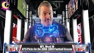 NFL Week 10 ATS Picks for the 2018-2019 Football Season