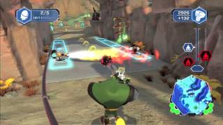 Ratchet & Clank: Q-Force HD Gameplay Video - The First Mission