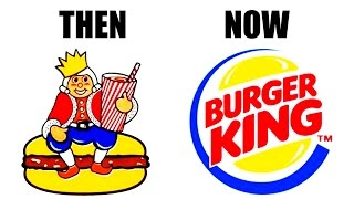 5 Of The Most Famous Logos - Then & Now